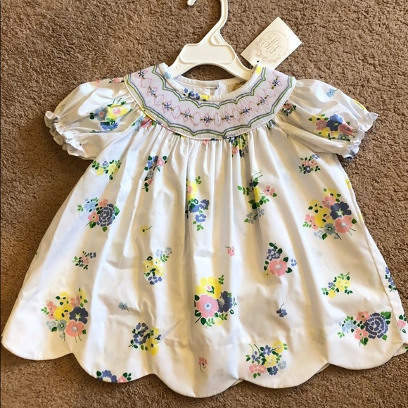 NWT BABY GAP GIRLS DRESS 4TH JULY floral flowers tulip dress    you pick size